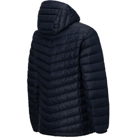 Peak Performance Frost Down Hooded Jacket Herr salute blue